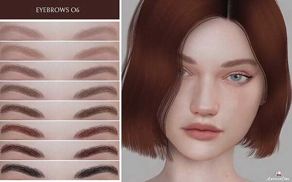 Eyebrows 06 from Lutessa