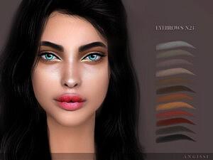Eyebrows n23 sims 4 cc