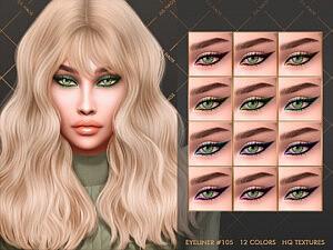 Eyeliner 105 sims 4 cc