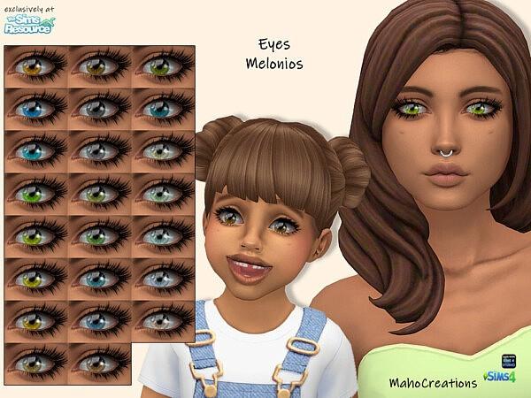 Eyes Melonios by MahoCreations from TSR