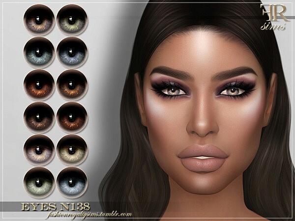 Eyes N138 sims 4 cc