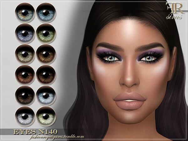 Eyes N140 sims 4 cc
