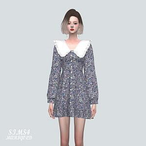 FR7 Frill Collar Mini Dress V2
