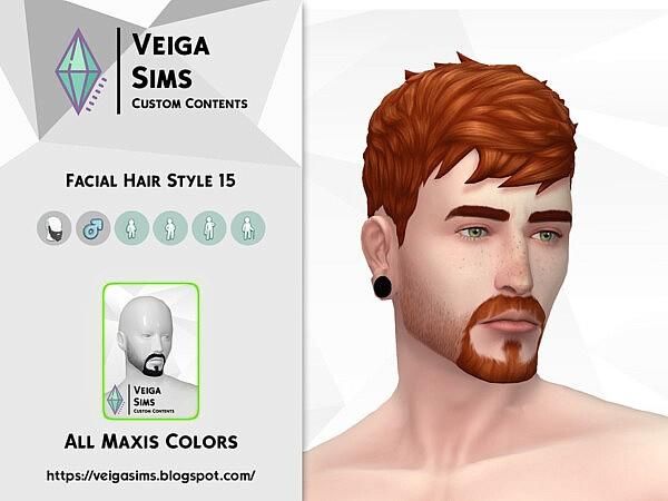 Facial Hair Style 15