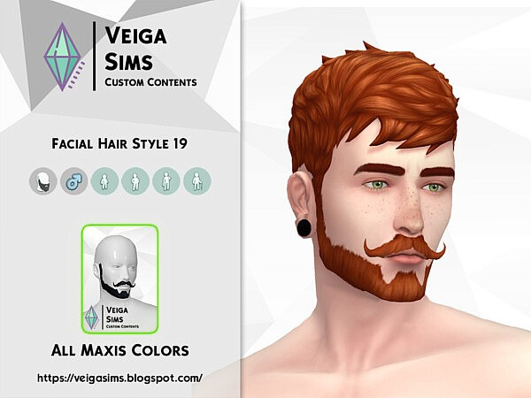 Facial Hair Style 19