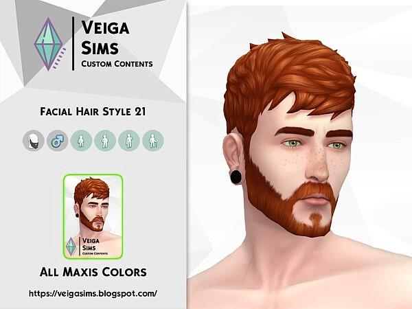 Facial Hair Style 21