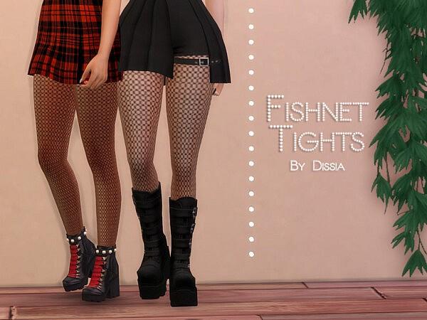 Fishnet Tights sims 4 cc