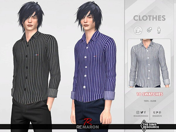 Formal Shirt 04 by remaron from TSR