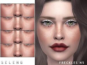 Freckles N5 sims 4 cc