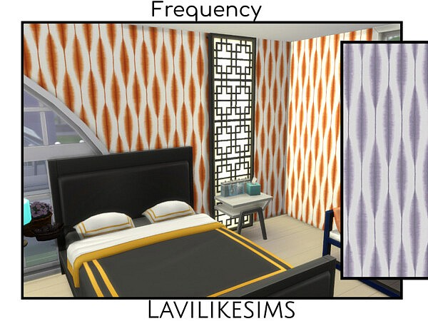 Frequency Walls sims 4 cc
