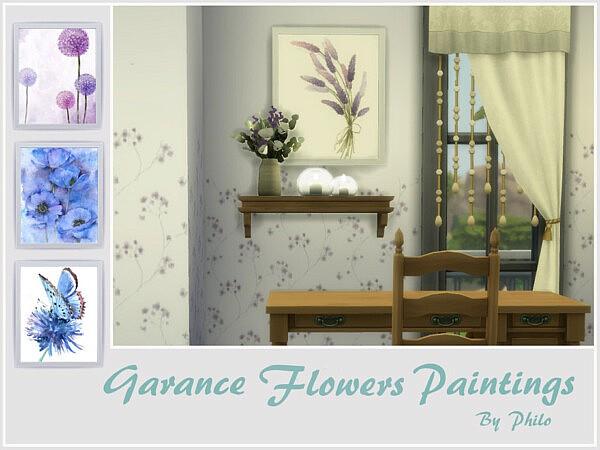 Garance Flowers Paintings