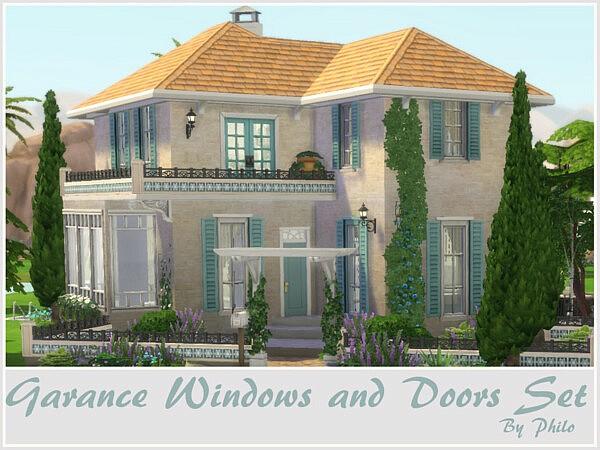 Garance Windows and Doors Set