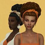 Girassol Hair sims 4 cc