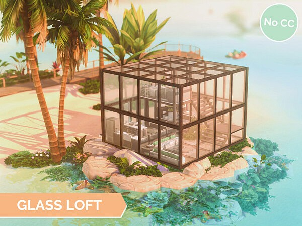 Glass Loft sims 4 cc