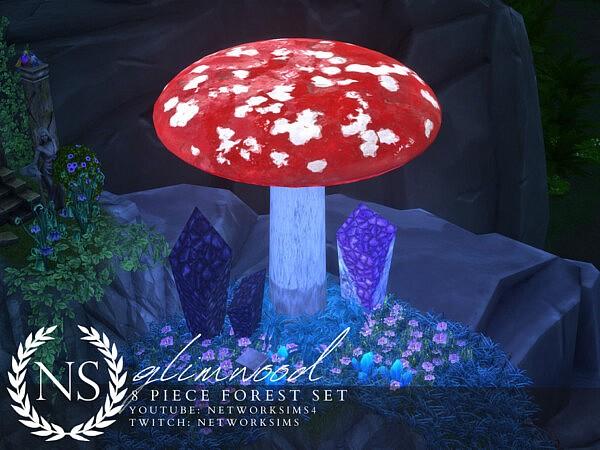 Glimwood Forest Set sims 4 cc
