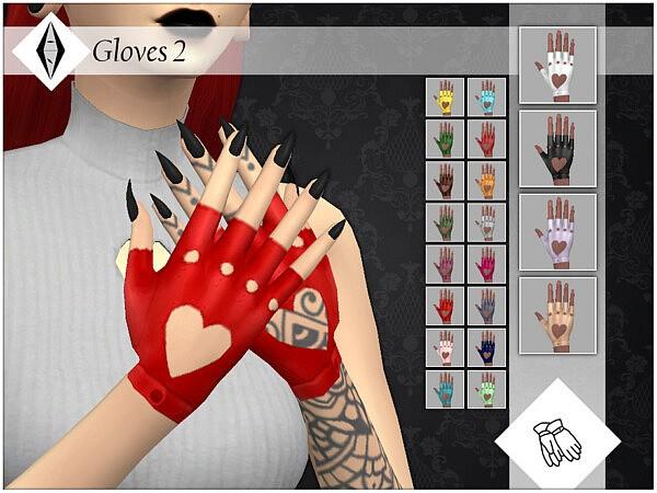 Gloves 2 sims 4 cc