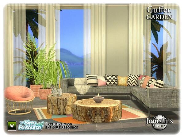 Guffer Garden sims 4 cc