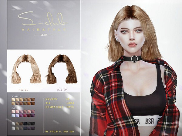 Hair N87 by S Club from TSR