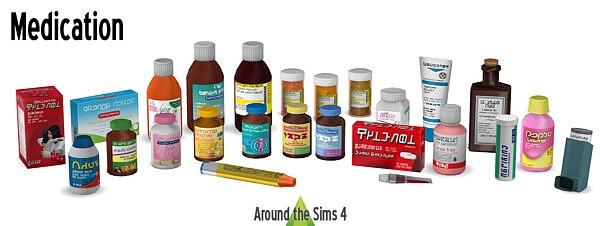 Health Medication sims 4 cc