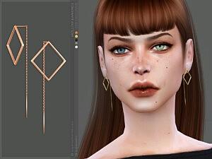 Hollow earrings