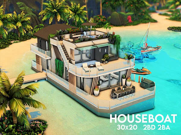 Houseboat by xogerardine from TSR