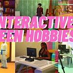 Interactive Teen Hobbies sims 4 cc