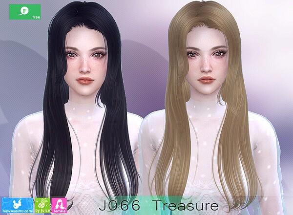 J066 Treasure Hairs sims 4 cc