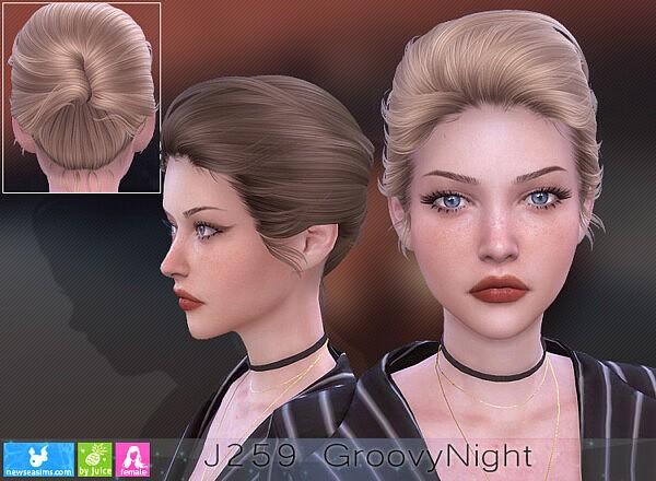J259 Groovy Night Hair