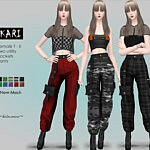 KARI Industrial Cargo Pants sims 4 cc