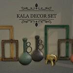 Kala Decor Set sims 4 cc