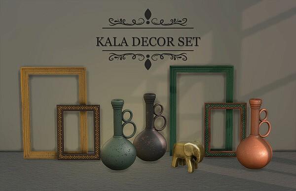 Kala Decor Set from Leo 4 Sims