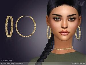 Kara Hoop Earrings