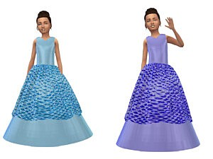 KeyCamz Girls Dress sims 4 cc