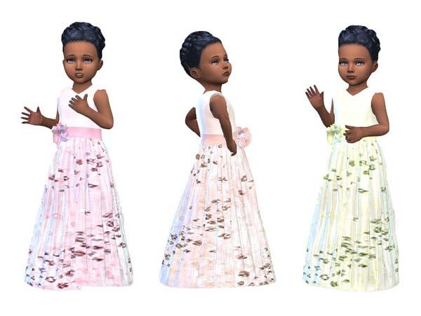 KeyCamz Toddler Dress sims 4 cc
