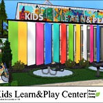 Kids Learn and Play Center sims 4 cc