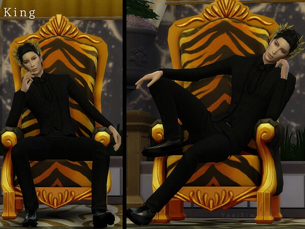 King Pose Pack