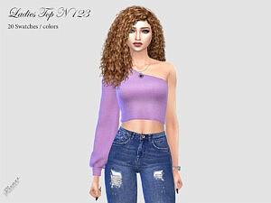 LADIES TOP N 123 sims 4 cc