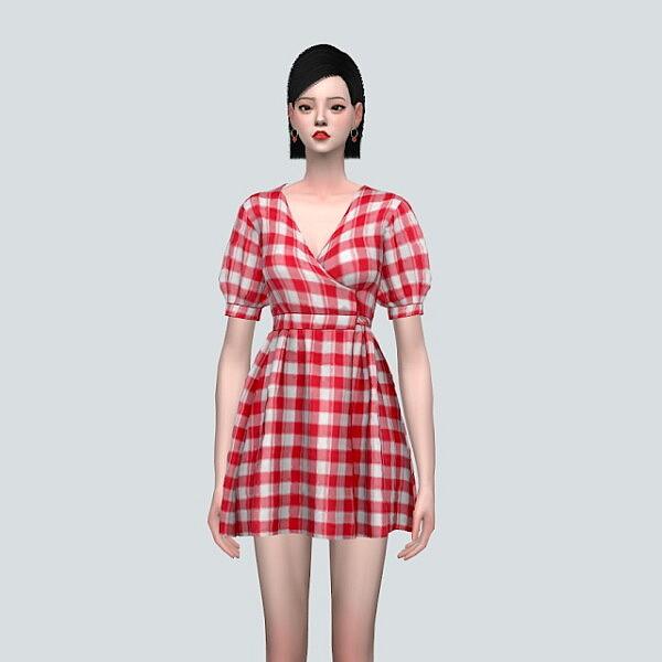 LW 1 Mini Dress V2 sims 4 cc