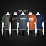 Layered T Shirt AF sims 4 cc