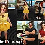 Little Princess Pose pack sims 4 cc