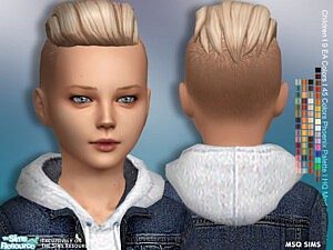 Lukas Hair Child sims 4 cc