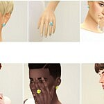 M Jewelry V sims 4 cc