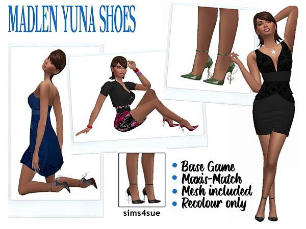 MADLENS YUNA SHOES sims 4 cc