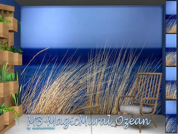 MagicMural Ozean sims 4 cc
