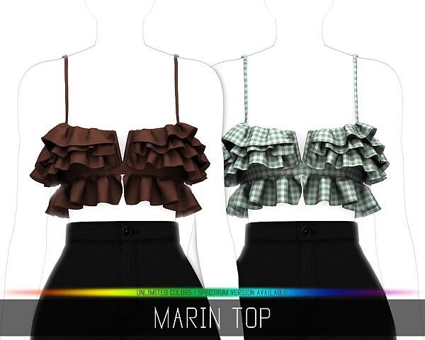 Marin Top sims 4 cc