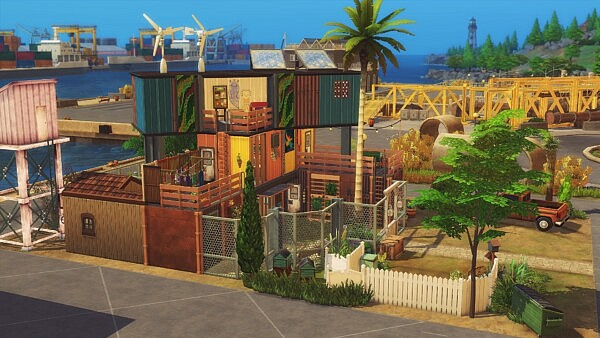 Maritime House sims 4 cc