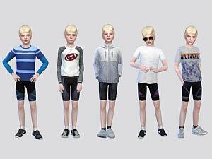 Marks Cycling Shorts Boys sims 4 cc