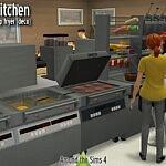 McDonalds Kitchen sims 4 cc
