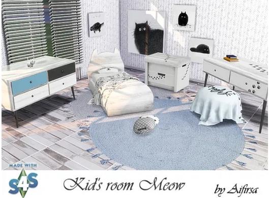 Meow Kidsroom sims 4 cc