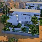 Mirage House sims 4 cc